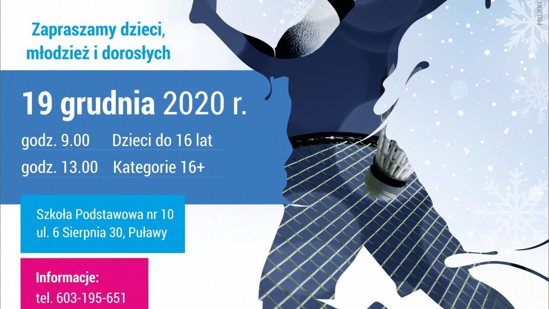 VII Mistrzostwa Puław w badmintonie